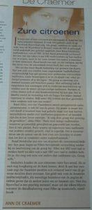 column Ann De Craemer