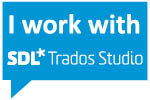 I work with SDL Trados Studio 2019